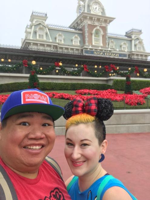 us at Magic Kingdom